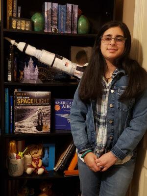 Vaneeza Rupani - autorka nového jména pro první marsovský vrtulník