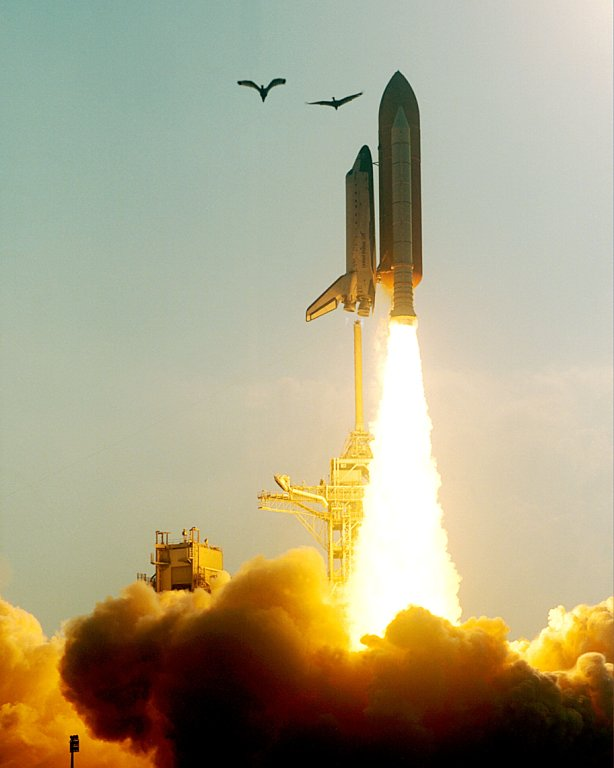 Start mise STS-91