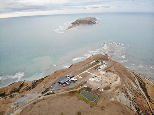Launch Complex 1 Pad B vzniká v těsné blízkosti první rampy pro rakety Electron.