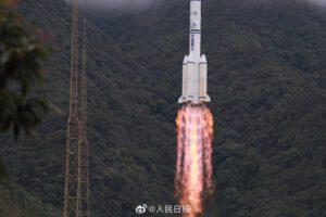 23. června 2020 - poslední družice Beidou startuje.