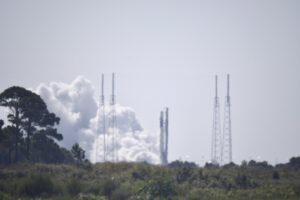 Statický zážeh Falconu 9 před misí GPSIII-SV03