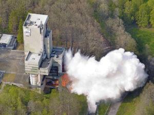 Testovací stanoviště P5 v německém Lapoldhausenu.