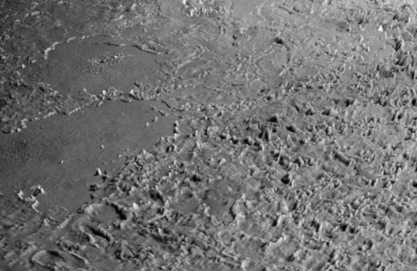 Cantaloupe - terén na Tritonu