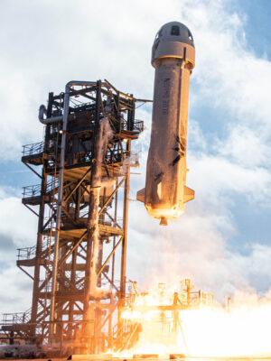 11. prosince 2019 - New Shepard startuje a na palubě je i OSCAR.