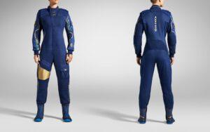turistický kosmický oděv od Virgin Galactic