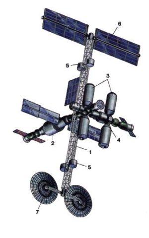 """Takto měl vyhlížet """"malý Mir-2""""."""