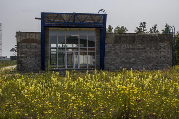 Jedna z nový staveb - zřejmě budoucí metrologická stanice Zdroj: