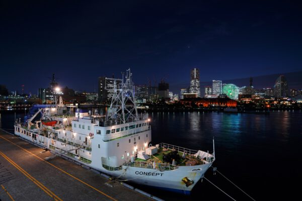 Výzkumná loď Concept ve službách agentury JAXA.
