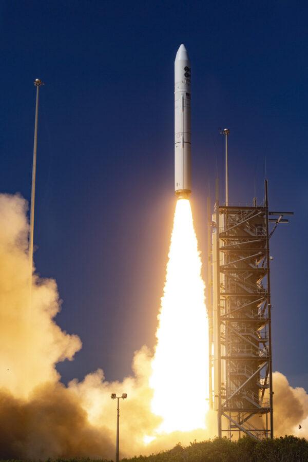 Start rakety Minotaur IV