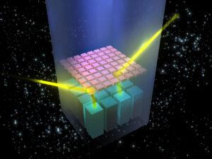 Snímač přístroj IBIS dokáže zaznamenat místo, odkud záření přišlo.
