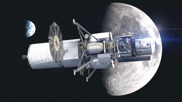 Vizualizace landeru Národního týmu včetně přeletového prvku, červen 2020