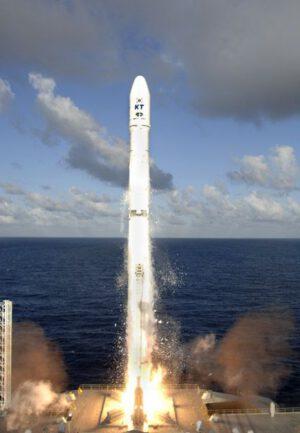 22. srpna 2006 - Zenit 3SL vynáší družici Koreasat 5.