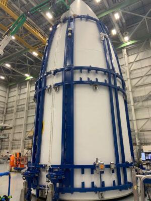 Kryty pro Atlas V vyrobené metodou OoA.