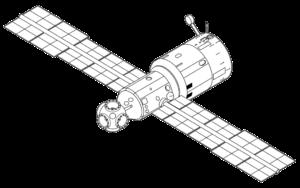 Základní blok stanice Mir