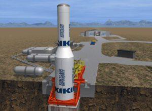 Vizualizace rakety společnosti Kistler