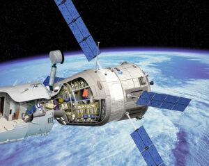 Takto mohla vypadat loď ATV ve verzi Large Cargo Return Spacecraft