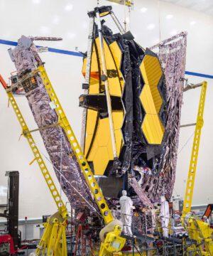 Dalekohled Jamese Webba je již plně sestaven. Přichází tedy čas na jeho komplexní zkoušky.