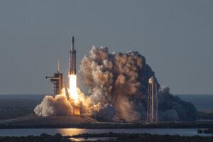 Falcon Heavy společnosti SpaceX