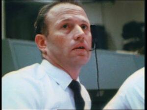 Jerry během dramatických sekund při startu Apolla 12