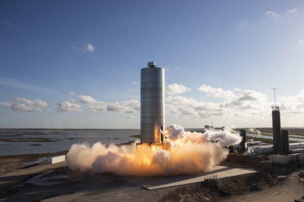 Start Starship SN-5 k prvnímu skoku