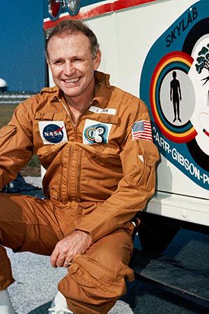 Jerry Carr - kosmonautická legenda