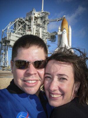 Megan McArthur je manželkou astronauta Roberta Behnkena