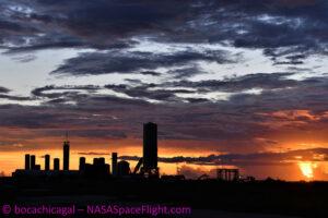 Starship SN6 na Boca Chica