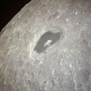 Kráter Ciolkovskij z Apolla 13