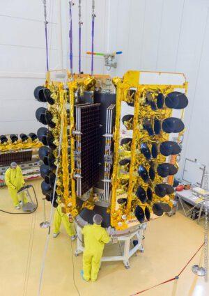 Družice O3b vynášely rakety Sojuz z Jižní Ameriky.