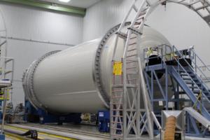 Nádrž pro první exemplář rakety Vulcan