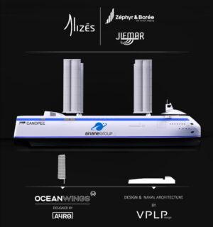 Přehled společností, které se podílejí na tvorbě tohoto výjimečného plavidla.
