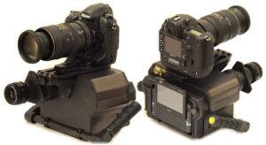 Vybavení ke snímkování v rámci experimentu Uragan