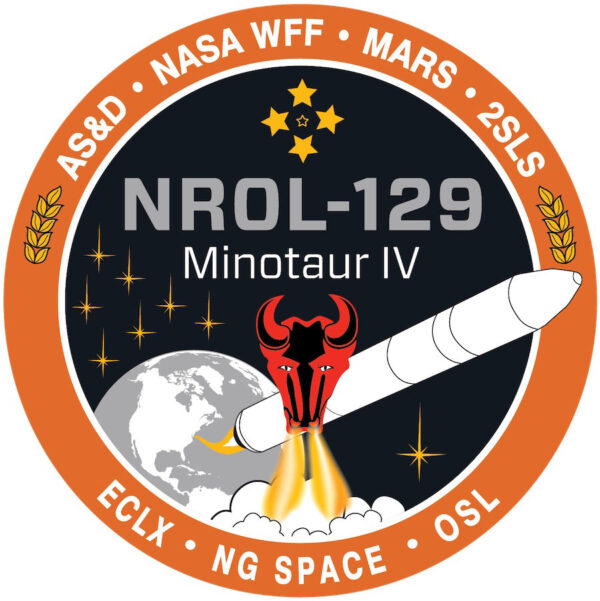 Logo startu mise NROL-129.