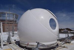 Kupole teleskopu stanice OGS-2