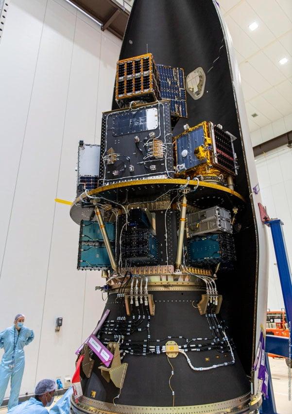 První český dispenzer pro raketu Vega