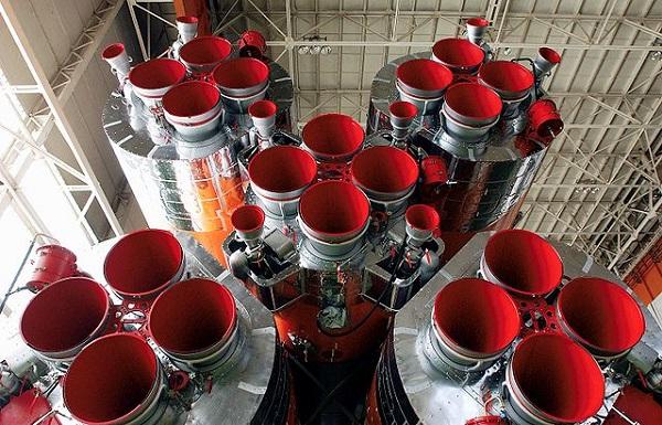 motory rakety Sojuz