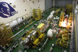 Nauka a Sojuz MS-14 na Bajkonuru