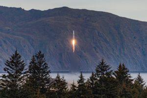 Start rakety Rocket 3.1