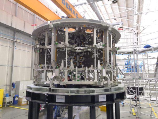 Servisní modul Orionu pro Artemis III, 8. září 2020