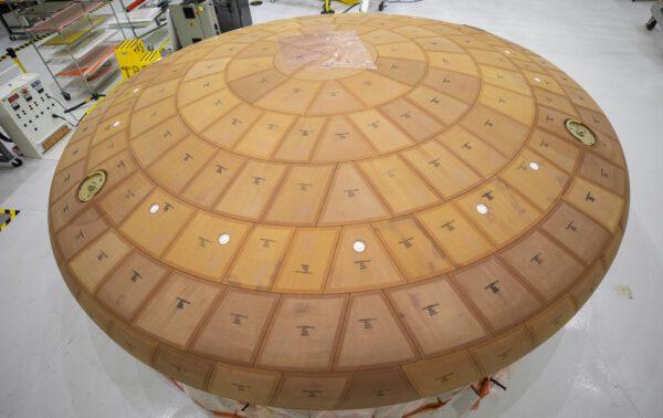 Tepelný štít Orionu pro Artemis II, 2. července 2020