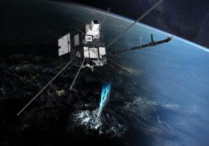 Vizualizace družice TARANIS.