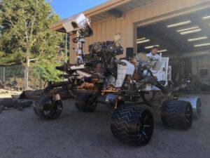 MAGGIE je dvojčetem vozítka Curiosity.