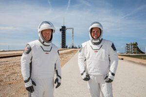 Pravý a nefalšovaný skafandr SpaceX