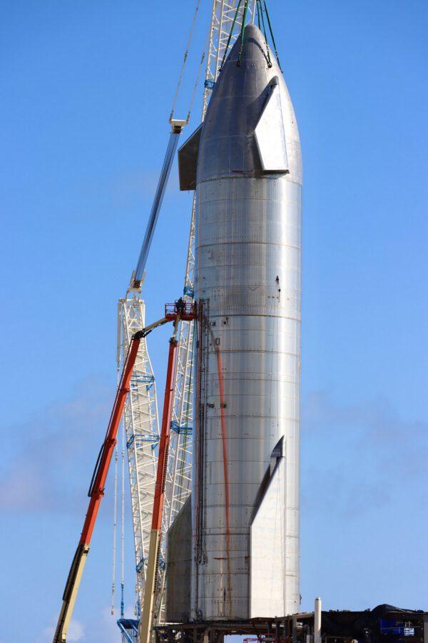 Starship SN-8