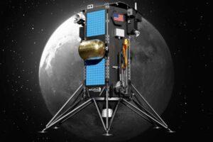 Lunární lander NOVA-C od firmy Intuitive Machines má na měsíc dopravit zařízení PRIME-1.