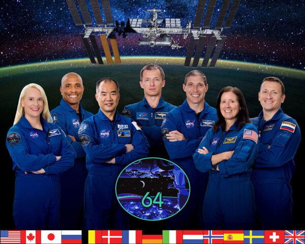 64. dlouhodobá expedice na ISS bude mít sedm členů.