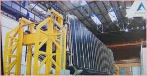 Sytém radiátorů tahače TEM.