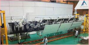Instalace stacionárních radiátorů na TEM.
