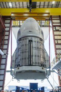 Přeprava lodi Crew Dragon Resilience pro misi Crew-1