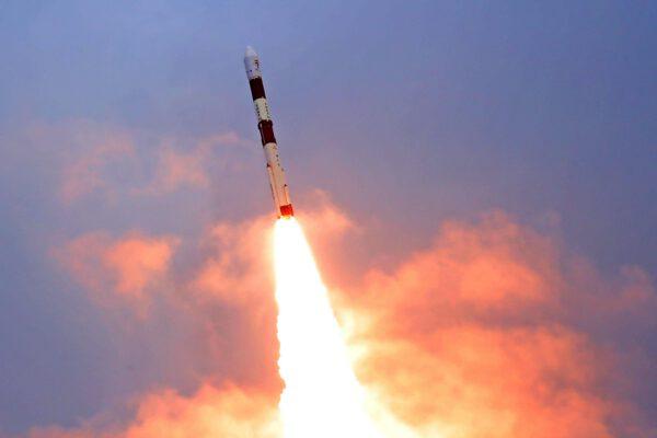 Start indické rakety PSLV